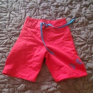 Under armour shorts slightly used